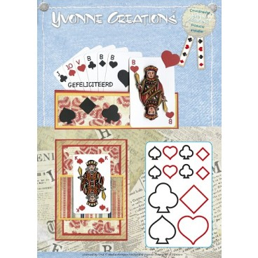 Die - Yvonne Creations - Men - Playing cards