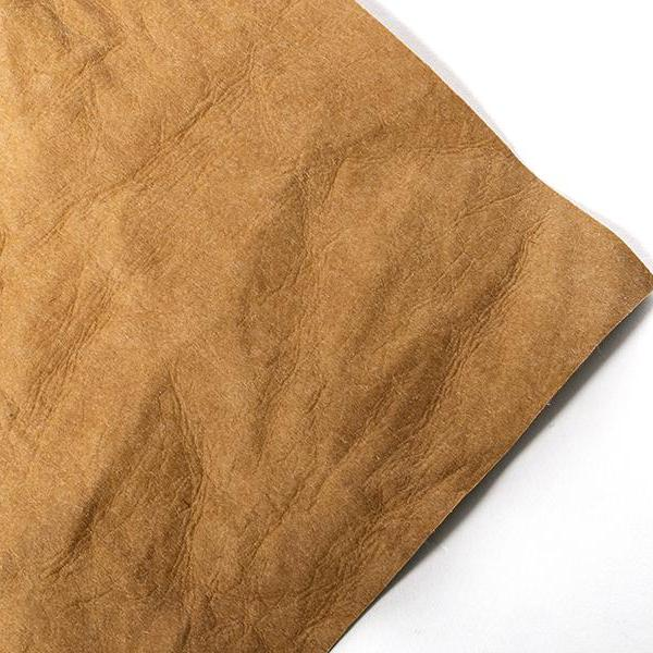 Silhouette Faux Leather Paper Natural