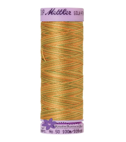 Kleurnr. 9835 Gemeleerd Silk Finish Multi