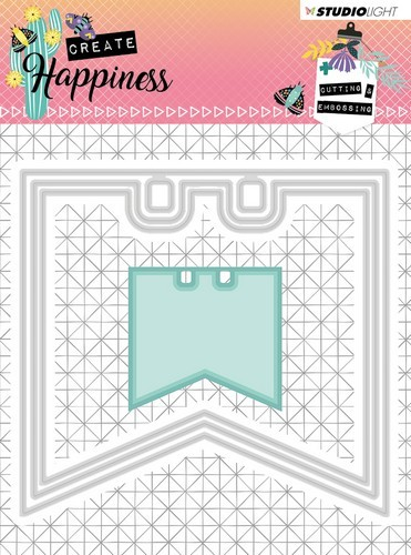 Studio Light - Create Happiness - Cutting and Embossing Die - nr.153
