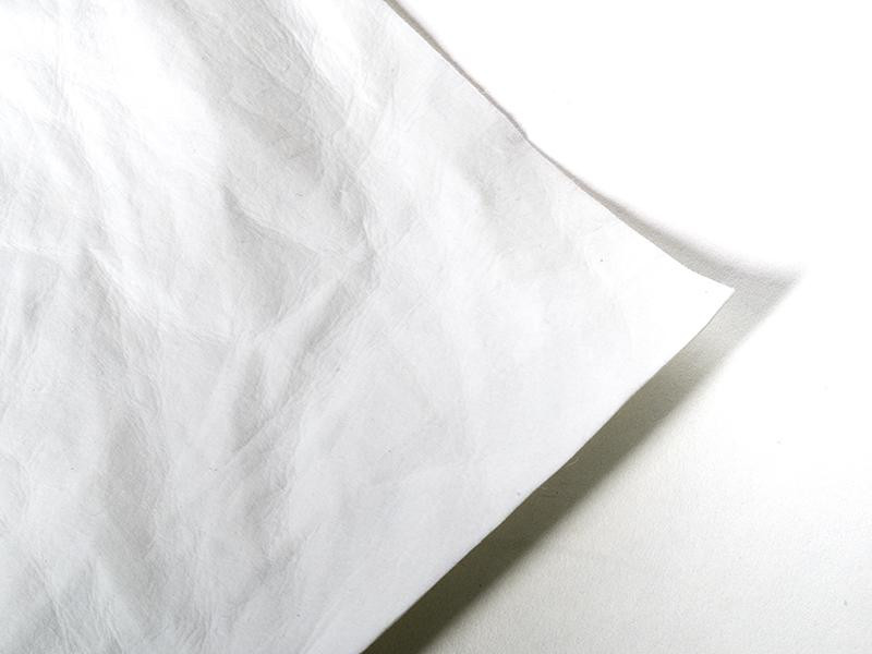 Silhouette Faux Leather Paper White
