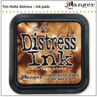 Vintage Photo Distress inkt (Ranger) Mini