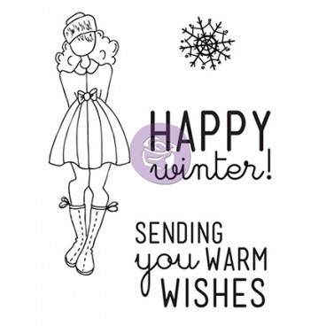 Doll Stamp Kit Warm Wishes