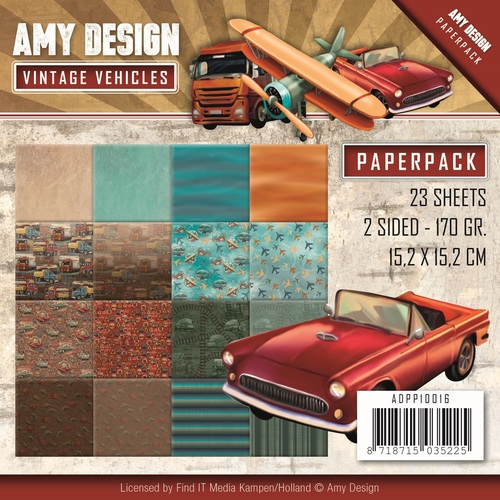 Paperpack - Amy Design - Vintage Vehicles