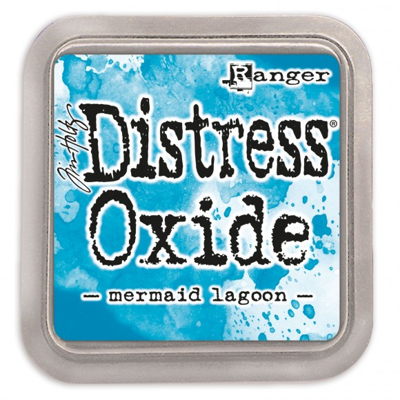 Tim Holtz distress oxide mermaid lagoon
