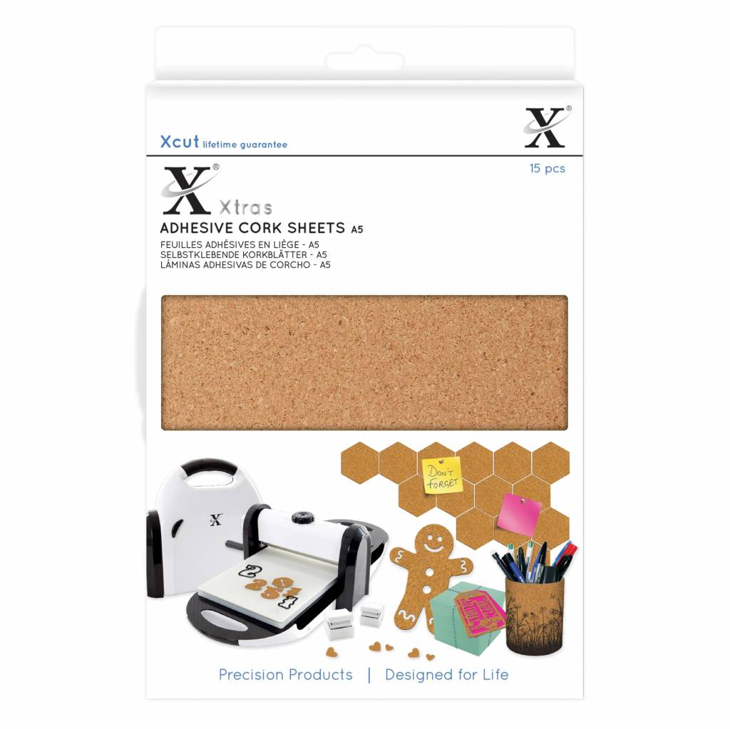 Adhesive Cork sheets (A5) (X-CUT)