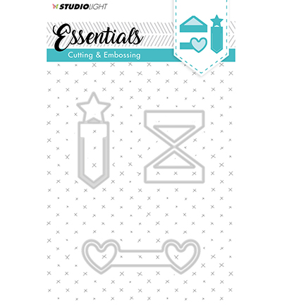 Essentials Embossing Die Cut Stencil Nr125