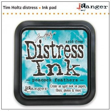 Peacock Feathers  Distress Inkt  (Ranger) Mini