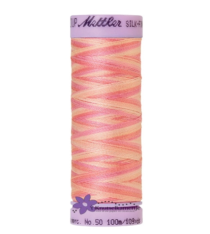 Kleurnr. 9847 Gemeleerd Silk Finish Multi