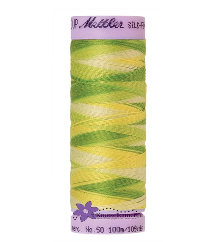 Kleurnr. 9830 Gemeleerd Silk Finish Multi