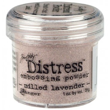 Milled Lavender  Distress embossing powder Tim Holtz