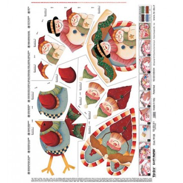Kerst Snow friends To-Do Soft-Paper
